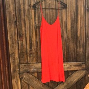 H&M Red Jersey Dress Size Small